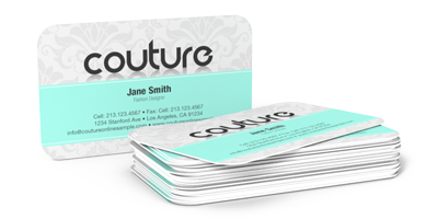 Business cards round corners printing express business cards reheart Gallery